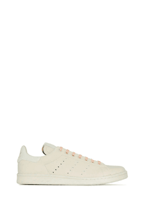 ADIDAS BY PHARRELL WILLIAMS MEN'S FX8003 BEIGE LEATHER SNEAKERS