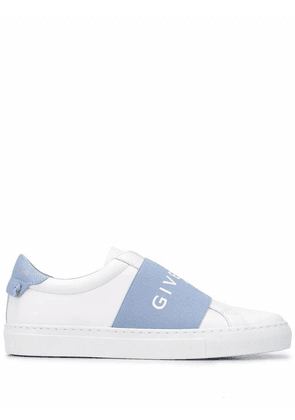 GIVENCHY WOMEN'S BE0005E0EB194 WHITE LEATHER SLIP ON SNEAKERS