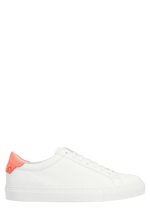 GIVENCHY WOMEN'S BE0003E0TW652 WHITE LEATHER SNEAKERS