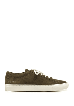 COMMON PROJECTS MEN'S 22761010 GREEN SNEAKERS