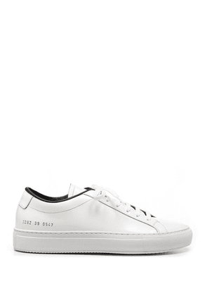 COMMON PROJECTS MEN'S 22820547 WHITE SNEAKERS