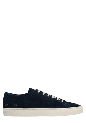 COMMON PROJECTS MEN'S 22764928 BLUE SNEAKERS