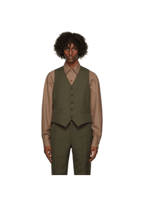 Lemaire Brown Wool Vest