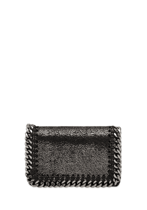 Faux Suede Card Holder