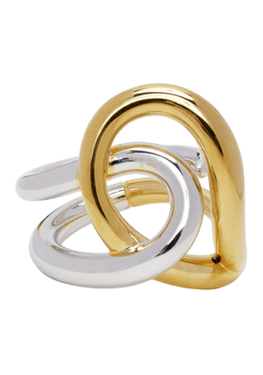 Charlotte Chesnais Gold and Silver Blaue Ring