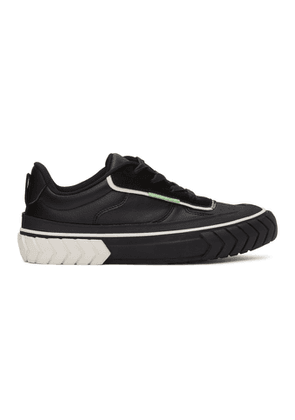 both Black Low Tyres Force Sneakers