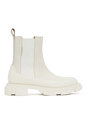 both Off-White Gao Chelsea Boots