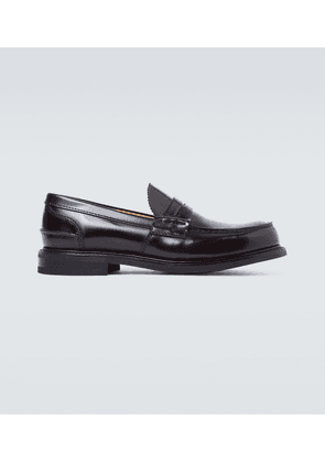 Pembrey leather loafers