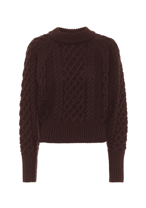 Emory cable-knit wool sweater