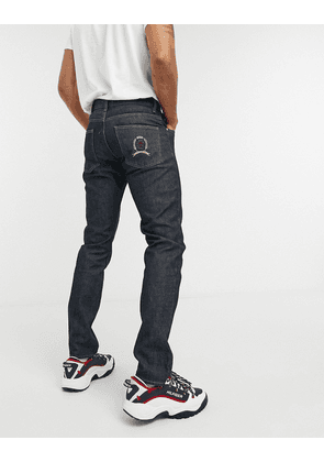 Tommy Hilfiger Collections slim crest embro jeans-Blue