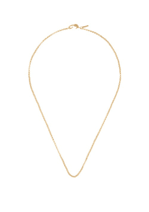Dezso - Wave 18kt Gold Chain-link Necklace - Womens - Gold