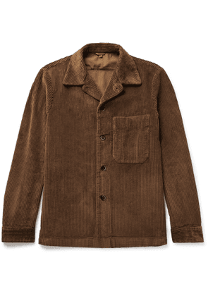 Barena - Cotton-Corduroy Overshirt - Men - Brown