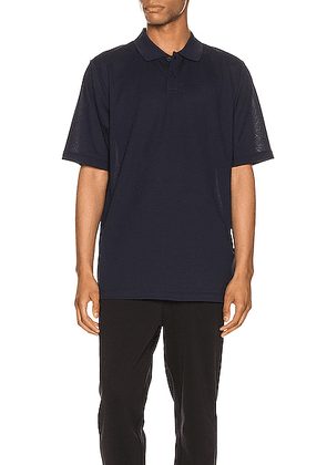 Y-3 Yohji Yamamoto Pique Polo in Legend Ink - Blue. Size S (also in ).