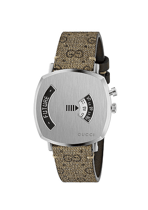 Gucci Grip Watch in Silver - Neutral,Metallic. Size all.