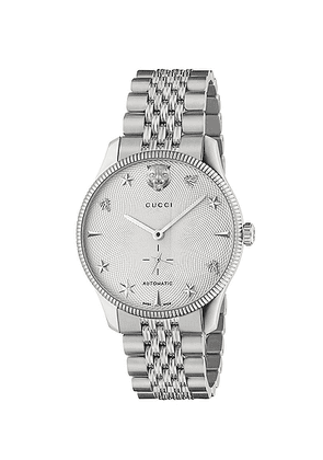 Gucci G-Timeless Watch in Silver - Metallic. Size all.