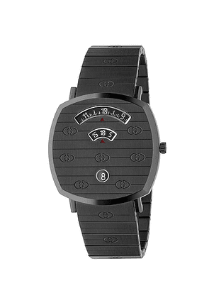 Gucci Grip Watch in Black - Metallic. Size all.
