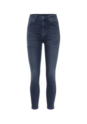Aubrey Slim Illusion Luxe high-rise skinny jeans