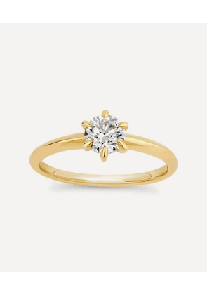 Gold Miss Lily Diamond Solitaire Ring