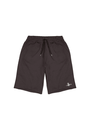Vivienne Westwood Action Man Brown Cotton-jersey Shorts