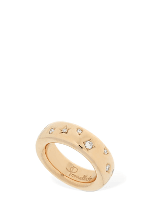 Iconica 18kt Rose Gold & Diamond Ring