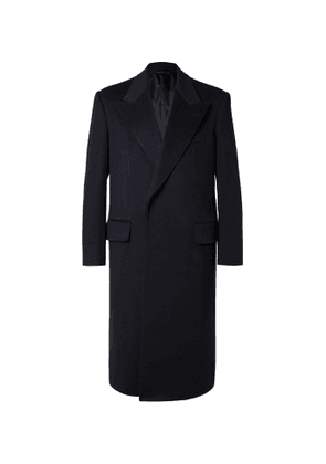 Dunhill - Wool and Cashmere-Blend Coat - Men - Blue