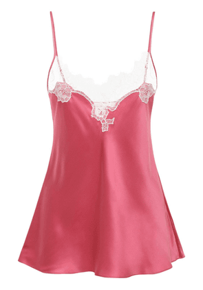 Lace & Satin Camisole Top