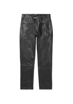 Enfants Riches Déprimés - Leather Trousers - Men - Black