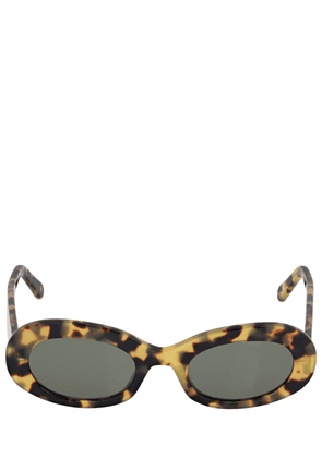Dalia Round Acetate Sunglasses