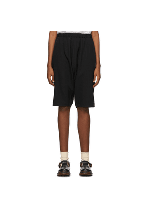 Comme des Garcons Girl Black Cropped Trousers