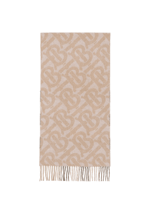 Burberry Pink Check and Monogram Scarf
