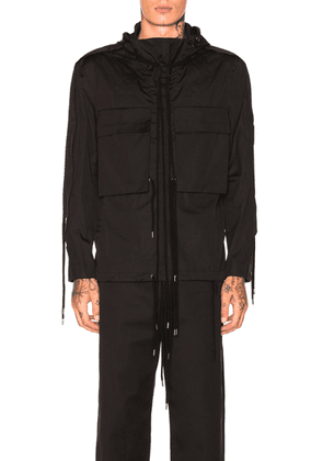 Craig Green Fold Hood Shirt in Black - Black. Size M (also in ).