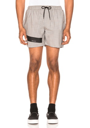 Raf Simons Taped Short Shorts in Fuchia - Gray. Size 50 (also in ).