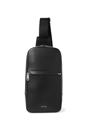 Paul Smith - Textured-Leather Sling Backpack - Men - Black