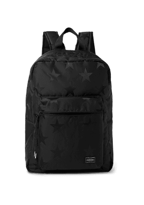 Porter-Yoshida & Co - Star-Print Nylon Backpack - Men - Black