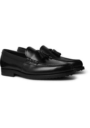 Tod's - Leather Tasselled Loafers - Men - Black
