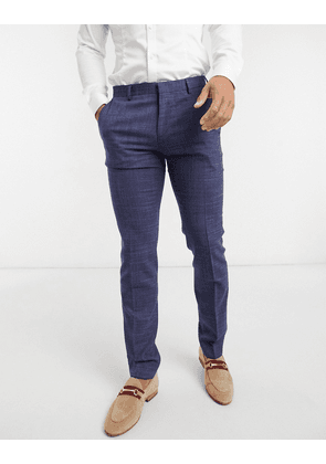 Tommy Hilfiger extra slim fit smart trousers in navy