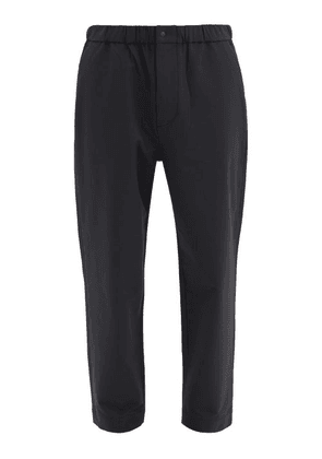 Snow Peak - Relaxed Technical-crepe Trousers - Mens - Black