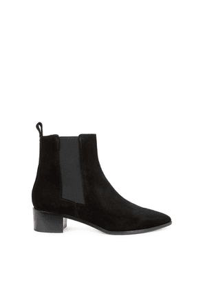 Aeyde Lou 40 Black Suede Chelsea Boots