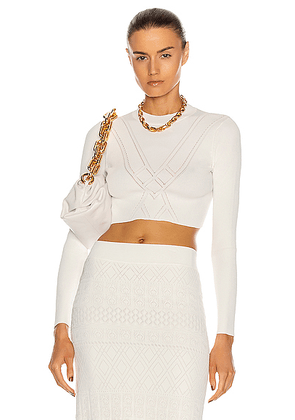 Alexis Chera Top in White - White. Size M (also in L).