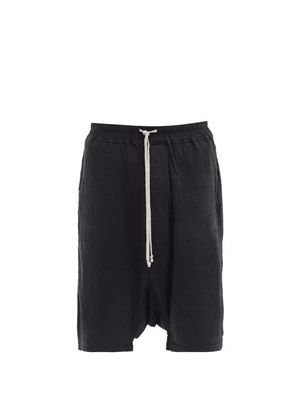 Rick Owens Drkshdw - Pods Cotton-jersey Shorts - Mens - Black