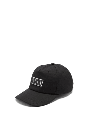 Valentino Garavani - Vltn Canvas Cap - Mens - Black