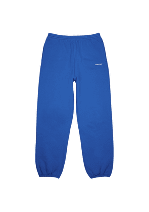 Balenciaga Copyright Blue Cotton Sweatpants