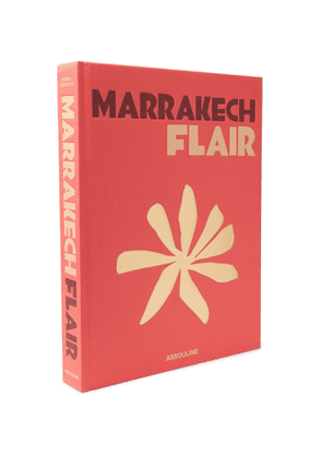 Assouline - Marrakech Flair Hardcover Book - Men - Red