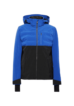 Aztech Mountain - Ajax Waterproof Colour-Block Padded Quilted Ski Jacket - Men - Blue