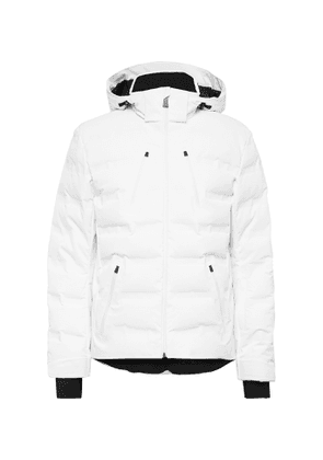 Aztech Mountain - Nuke Suit Hooded Down Ski Jacket - Men - White