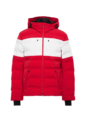 Aztech Mountain - Nuke Suit Hooded Down Ski Jacket - Men - Red