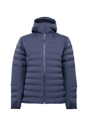 Aztech Mountain - Pyramid Padded Quilted Hooded Ski Jacket - Men - Blue