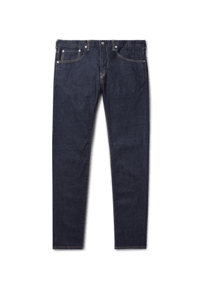 EDWIN - Slim-Fit Tapered Selvedge Stretch-Denim Jeans - Men - Blue