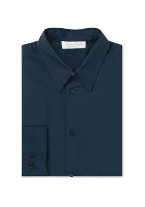 Gabriela Hearst - Quevedo Slim-Fit Cotton-Poplin Shirt - Men - Blue