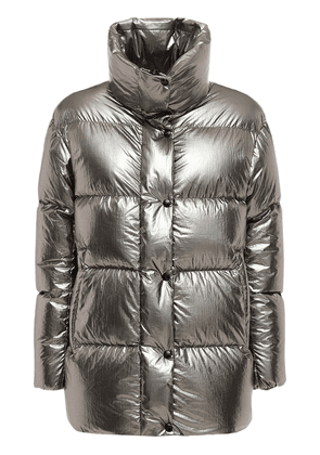 Miram Metallic Nylon Down Jacket